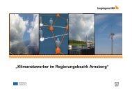 """""""Klimanetzwerker im Regierungsbezirk Arnsberg"""" - Klimaschutz EKvW"""