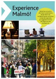 Experience Malmö! - Malmotown.com