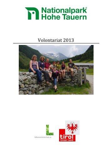 Volontariat 2013