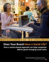 Does Your Brand Have a Social Life? - Maritz Institute