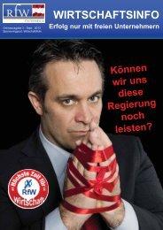 Onlinezeitung, Sonderausgabe zur Nationalratswahl - RfW Ring ...