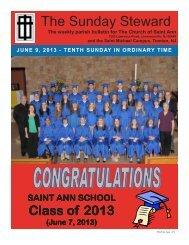 June 9, 2013 - Church of St. Ann