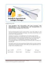 Ausgabe Januar 2010 Karin Waibel Peter G. Marx Irene Sauer ...