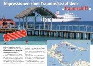 Impressionen einer Traumreise... - Cruise Ship Portal