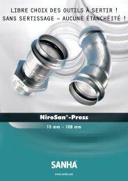 NiroSan-Press F - espace inox