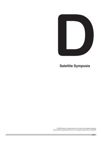 DSatellite Symposia - myESR.org