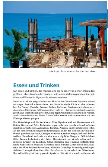 Essen und Trinken - Michael Müller Verlag