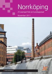 25 exempel från en kunskapsstad - Nordic City Network
