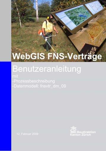 WebGIS FNS-Verträge Benutzeranleitung