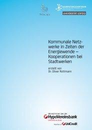 Kooperationen bei Stadtwerken - PSR Institut