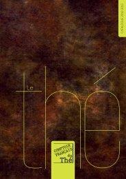 catalogue CFT - Comptoir Français du Thé