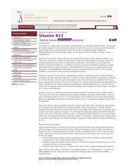 Vitamin B12 click here... - My Weight Doctor