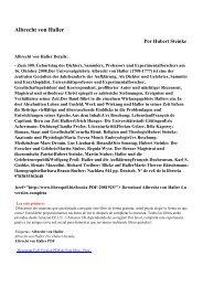 Albrecht von Haller pdf ebooks por libre Hubert Steinke descarga