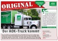 Ausgabe 02/2013 Der AOK-Truck kommt - Original