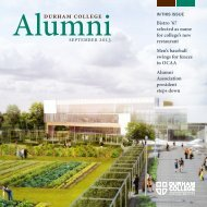 September 2013 [PDF - 4MB] - Durham College