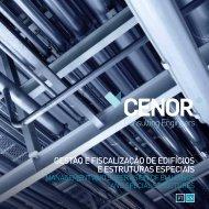 gestão e fiscalização de edifícios e estruturas especiais - Cenor