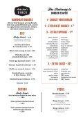 Ruby Jeans Diner Menu - Spanky Van Dykes - Page 3