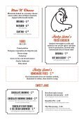 Ruby Jeans Diner Menu - Spanky Van Dykes - Page 4