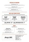 Ruby Jeans Diner Menu - Spanky Van Dykes - Page 6