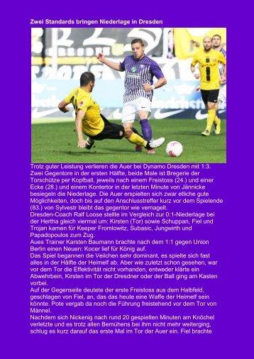 8.Spieltag vom 30.09.2012 - VEB Aue