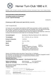 Einladung zum JMD Turnier am 28. April 2013 KL 2 und