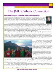 Newsletter - Catholic Campus Ministry