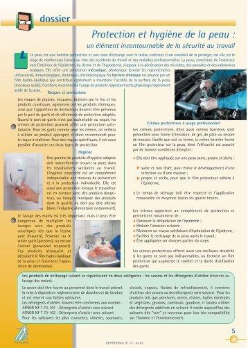 dossier Protection et hygiène de la peau : - Synamap