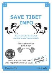 Save Tibet Info November 2013