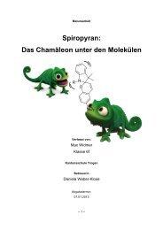 Spiropyran - Kantonsschule Trogen