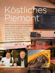 Piemont ist nicht nur die Heimat großer Weine. In dem ... - La Spinetta