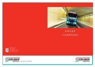 Laden Sie unsere Fuhrpark Broschüre auf Ihren PC - Gruber Logistics