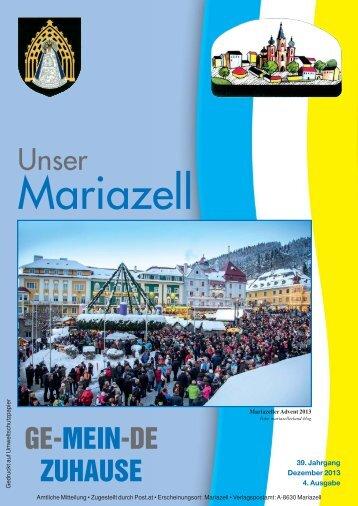 Ausgabe Oktober 2013 als PDF - Stadt Mariazell