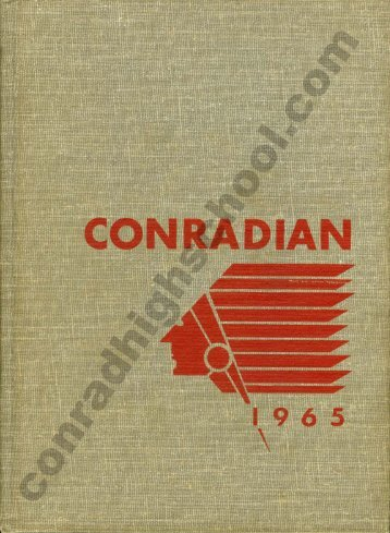 1965 Conradian Yearbook - Henry C. Conrad High School