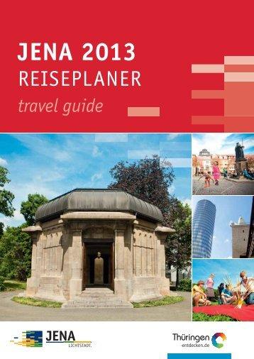 Download Reiseplaner 2013 (PDF, 10.0 MB) - Jena
