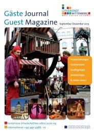 Gästejournal als PDF herunterladen - Urlaub Lutherstadt Wittenberg