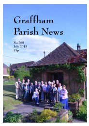 July 2013 - Graffham Parish News