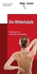 Wirbelsäule-Broschüre zum Download... - MedCenter