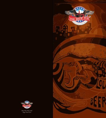 Food Menu - The Brew Pub