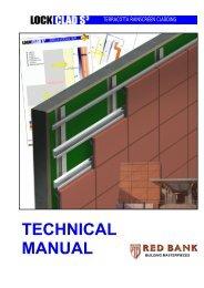 Lockclad Rainscreen Cladding Technical Manual