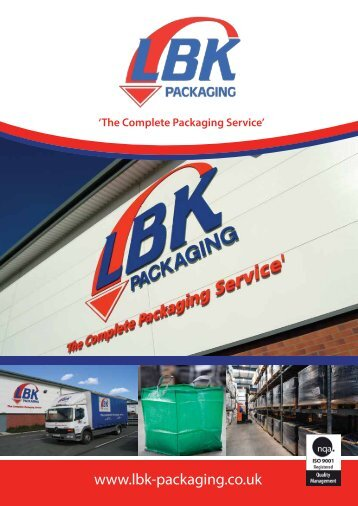to download our company brochure - LBK Packaging