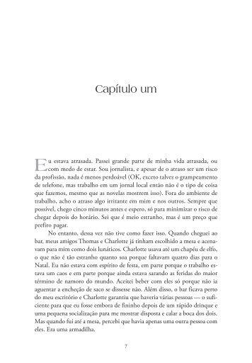 Capítulo um - Livraria Martins Fontes