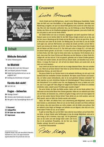 MNR 2005-04.pdf - Missionswerk Mitternachtsruf