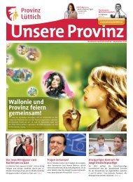 Wallonie und Provinz feiern gemeinsam! - Province de Liège