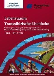 ausführlichen Reisebeschreibung - Hapag-Lloyd Reisebüro Lübeck