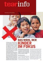 Das Wohl der Kinder im Fokus (03/13) - TearFund