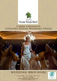wedding brochure here - Vienna Woods Hotel