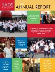 2010 Annual Report - SADS Foundation