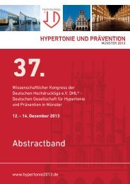 Abstractband - Hypertonie 2013