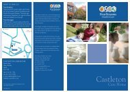 Castleton Brochure - Four Seasons Health Care