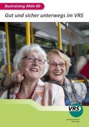 Senioren Bustraining - Flyer - VRS